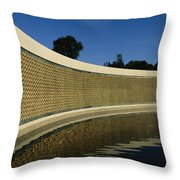 The Field Of Stars On The Freedom Wall Throw Pillow