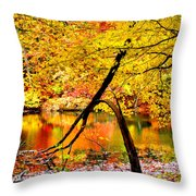 The Final Bough Throw Pillow