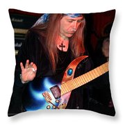 The Fire Of The Electric Sun Throw Pillow