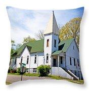 The First Christian Church Of Harriman 2 Throw Pillow
