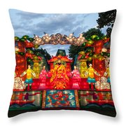 The First Emperor's Quest For Immortality Throw Pillow