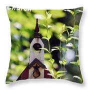 The First Tweetaterian Church Throw Pillow