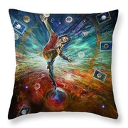 The Fool Throw Pillow