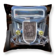 The Ford Grill Throw Pillow