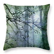 The Forest Cathedral Throw Pillow by Judi Bagwell