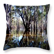 The Forest Throw Pillow