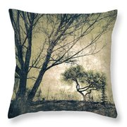 The Forgetting Tree Throw Pillow