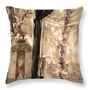 The Fortune Teller Palmistry Throw Pillow