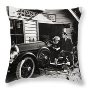 The Fourth Musketeer, 1923 Throw Pillow