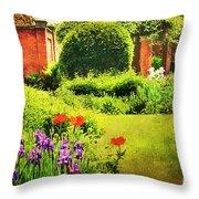 The Gardens Throw Pillow