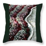 The Garden's Edge Throw Pillow