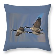 The Geese Throw Pillow