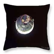 The Gemini 7 Spacecraft Throw Pillow