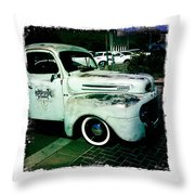 The Gentleman Scholar Truck Throw Pillow