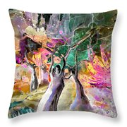 The Ghosts Throw Pillow