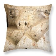 The God Of Fertility Throw Pillow