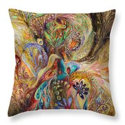 The Gold Dream Throw Pillow