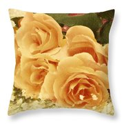 The Golden Gift Throw Pillow