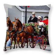 The Good Old Days Throw Pillow