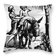 The Good Samaritan Throw Pillow