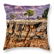 The Grand Canyon Iv Throw Pillow