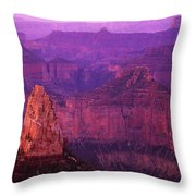 The Grand Canyon North Rim Throw Pillow