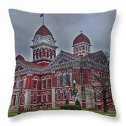 The Grand Old Lady Throw Pillow
