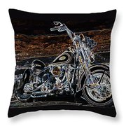 The Great American Getaway Throw Pillow by Eric Dee
