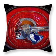 The Great Chief Pontiac Throw Pillow