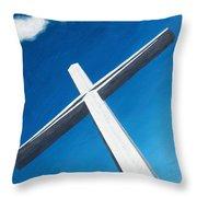 The Great Cross - Resurrection Throw Pillow