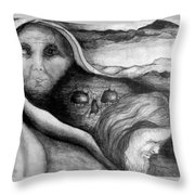 The Great Lie Throw Pillow