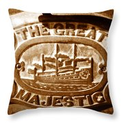 The Great Majestic Throw Pillow