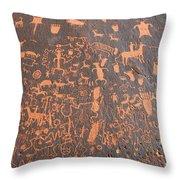 The Great Rock 1880 Throw Pillow