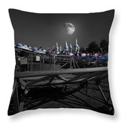 The Great Space Coaster Throw Pillow