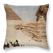 The Great Sphinx And The Second, Or Throw Pillow
