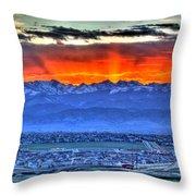 The Great Sunset Throw Pillow
