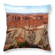 The Great Upheaval Dome Throw Pillow