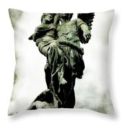 The Guardian Angel Throw Pillow