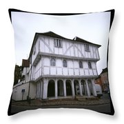 Thaxted Guildhall Throw Pillow