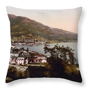 The Gulf Jalta -ie Yalta - The Crimea - Russia -ie- Ukraine Throw Pillow