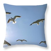 The Gullible Masses Throw Pillow
