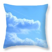 The Hand Of God Throw Pillow