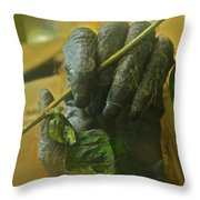 The Hands Throw Pillow