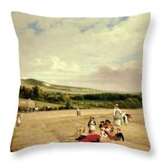 The Harvest Field Throw Pillow