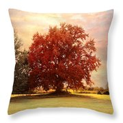 The Healing Tree  Throw Pillow by Jai Johnson