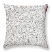 The Heart In The Sand Throw Pillow