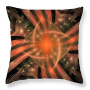 The Heart Of It All Throw Pillow