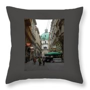 The Heart Of Vienna Throw Pillow