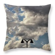 The Heavens Above Throw Pillow