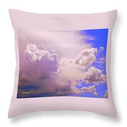 The Heavens Sing Throw Pillow